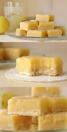 ( ^o^ )  limon, limón, tarta de limón, barras de limón, crema de limon, receta, rec