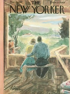 The New Yorker - Saturday, May 13, 1961 - Issue # 1891 - Vol. 37 - N° 13 - Cover by : Perry Barlow