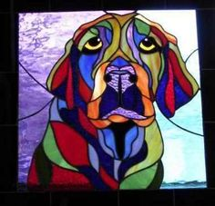 Love the colors in this. #DogsInArt Dogs In Art Labrador Retriever Puppy Dog Photography Puppies Doggie Pup Labs