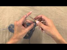 How to Crochet -- Solomon's Knot Highlights. In this video tutorial, Crochet! editor, Ellen Gormley, demonstrates the Extended Solomon's Knot stitch used in Rebecca Velasquez's Little Sister Shawlette, featured in our Spring issue. Order the Spring issue:  https://www.anniescatalog.com/detail.html?prod_id=122699