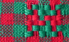 Un entramado de hilos y colores. Especial para adornar tejidos a telar.