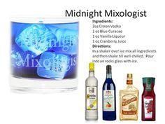 Midnight Mixologist Cocktail - Gotta love a blue drinks - New Drinks | Midnight Mixologist