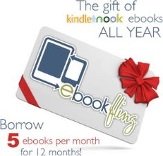 A year of Kindle/Nook ebooks (5/mo) from eBookFling.com  $99.99