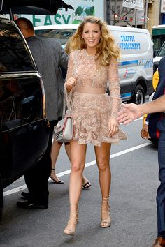 Mode Blake Lively, Blake Lively Outfits, Blake Lively Style, Blake Lively Fashion, Blake Lively Dress, Blake Lively Gossip Girl, Black Lively, Glamour Hollywoodien, Blake And Ryan