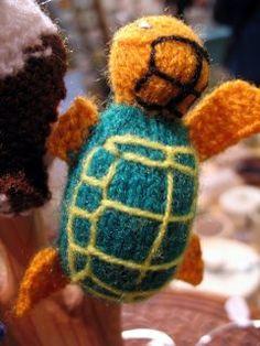 Fairtrade Endangered Species Finger Puppet