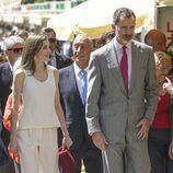 Los Reyes Felipe y Letizia en la inauguración de la Feria del Libro de Madrid 2017