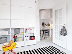 Ikea Besta Regal Aufbewahrungssystem für Kinderzimmer