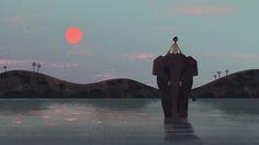 Benjamin Flouw | Some concept illlustration for a fictionnal short films/music video idea.