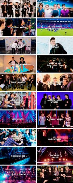 So much happened for the boys this year. It's been amazing and I can't wait for 2015 :)
