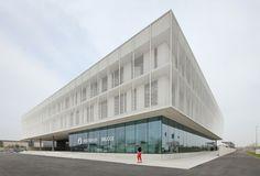 Politiecommissariaat Brugge / Beel & Achtergael Architecten © Filip Dujardin