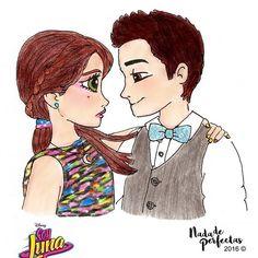 Luna and Matteo  episode 40! A drawing made by me in August, for a fan account #lutteo! This drawing is part of my #SoyLuna comics! Very soon at facebook.com/nadadeperfectas! I hope you like it!  Un dibujo realizado por mi en agosto, para una cuenta fan #lutteo! Esté dibujo forma parte de mis #SoyLuna Cómics! Muy Pronto en facebook.com/nadadeperfectas! #soyluna #lunavalente #alas #sobreruedas #matteobalsano #chicadelivery #chicofresa #art #soylunafanart #drawing #dibujos #comicsdesoy...