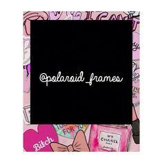 Marco Polaroid, Polaroid Frame Png, Polaroid Template, Polaroid Ideas, Foto Frame, Overlays Tumblr, Instagram Frame, 4 Photos, Love Design