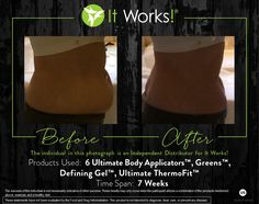 Check out these ultimate results from using a combination of our products! You can learn more about these products on our website.