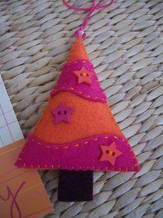 Cute Christmas tree ornament