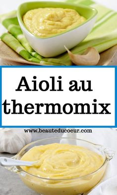 Aioli, Vinaigrette, Sauces Thermomix, Cantaloupe, Entrees, Food And Drink, Fruit, Cooking, Aioli Recipe