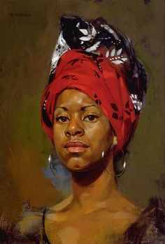 redhead - Paintings by William Whitaker  <3 <3