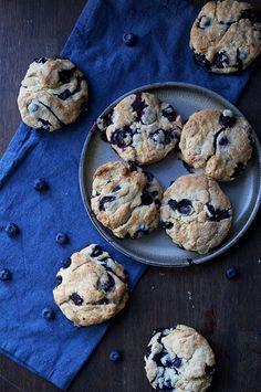 Deilige kjeks med blåbær, disse burde du prøve!