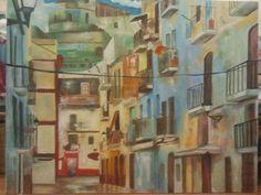 Oleo sobre tela VENDIDO #artonbcn #artecontemporaneo #artebenarcelona #pintura