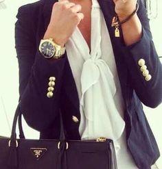 Business attire.