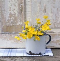 No matter what flowers/weeds I picked for her, she always put them on the table. Terry John Woods