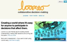 A colleague at THNK (the Amsterdam School of Creative Leadership) Nick Gerristen is collaborating in this New Zealand project about collaborative decision-making!  https://www.loomio.org/