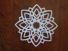 Paper snowflake challenge 2- Detailed tutorial-  Advanced level - Can YO...