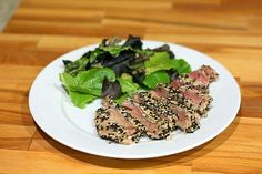 Sesame Seared Tuna Recipe - Barbara Cooks