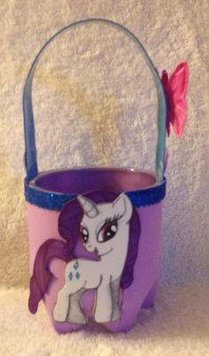 Dulcero reciclado. Raity my little pony :)