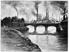 Sheffield, England, 1884 Photograph