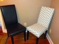 image result for how to reupholster a leather dining chair - How To Recover Dining Room Chairs