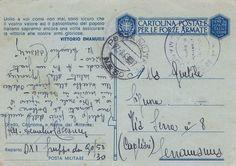 (1943) Cartolina Postale per le Forze Armate, con citazione del Re Vittorio Emanuele