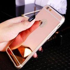 iPhone Mirror Effect Soft Case