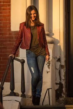 Victoria Justice, Filming 'Eye Candy' in Brooklyn, September 16, 2014