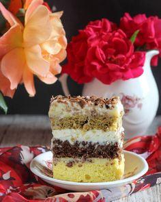 Romanian Desserts, Food Cakes, Something Sweet, Vanilla Cake, Nutella, Cake Recipes, Caramel, Sweet Treats, Cheesecake