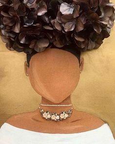 Black Love Art, Black Girl Art, Art Girl, African American Art, African Art, African Women, Natural Hair Art, Black Art Pictures, Black Artwork