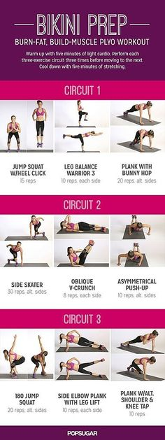 Ready to hop your way to fitness? This plyometric workout will have you sweating and feeling stronger. Build muscle, burn fat!