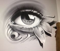 Tattoo Design Drawings, Art Drawings Sketches, Black People Tattoos, Eye Sketch, Desenho Tattoo, Tattoo Stencils, Hippie Art, Eye Art, Future Tattoos