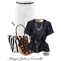 Caged Wedge, created by maggie-jackson-carvalho on Polyvore