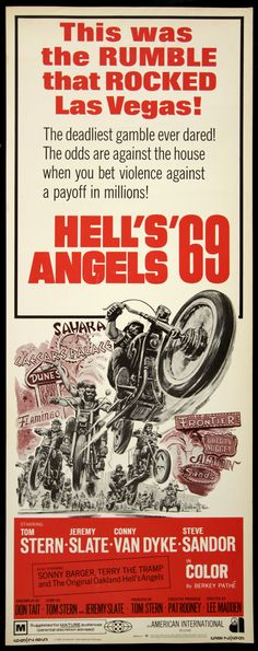 Hell's Angels '69 (1969) Stars: Tom Stern, Jeremy Slate, Conny Van Dyke ~ Director: Lee Madden