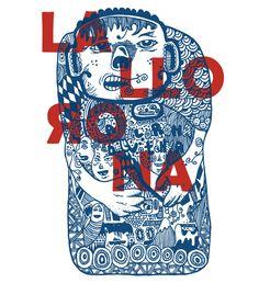 La Llorona by George Tsavalos, via Behance