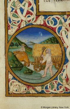 De re rustica, MS M.139 fol. 2r - Images from Medieval and Renaissance Manuscripts - The Morgan Library & Museum