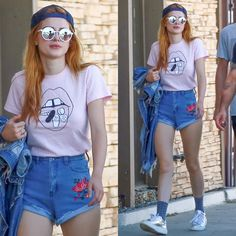 You won't believe where Bella Thorne got her outfit from!
