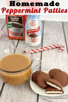 Homemade Peppermint Patty Recipe - Happiness is Homemade