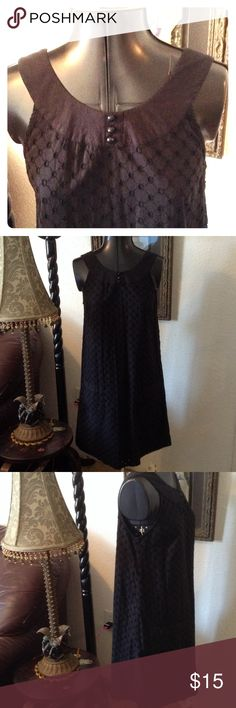 H&M dress 100% cotton, lined, extra bottom, rounded yoke, in very good condition. H&M Dresses Mini