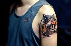Recopilación de tatuajes de tigres