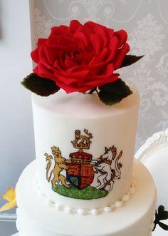Royal wedding cake inspired by prince Harry & Meghan wedding/ Gâteau de mariage pièce-montée inspirée du mariage british du prince Harry & Meghan Homemade Cakes, Prince Harry, British, Birthday Cake, Desserts, Food, Tailgate Desserts, Birthday Cakes, Deserts