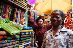 Balogun Market Ankara Vendors - Lagos, Nigeria