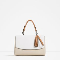 09848c00c3 ZARA - COLLECTION SS16 - CITY BAG WITH HANGING PIECE DETAIL Τσάντες