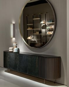 Plissè Baxter Design: Draga & Aurel Enchanting in its lines and finishings, P. Furniture Design, Interior Furniture, Furniture, Modern Console Tables, Interior Design, Home Decor, House Interior, Baxter Design, Sideboard Designs