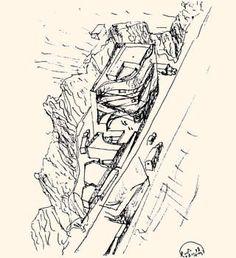 desenho fundação iberê camargo